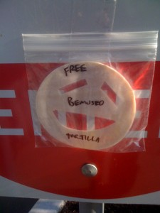 """Free Bemused Tortilla"" - Mystery Tortilla Database"